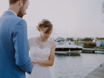 E & T - wedding by the lake - Mazury