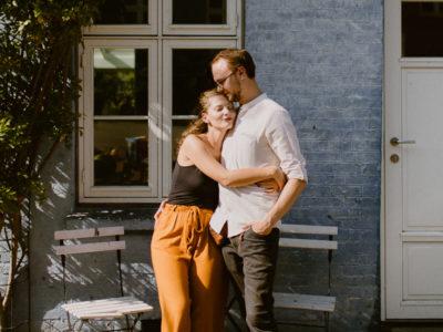 Lifestyle couple session - Copenhagen