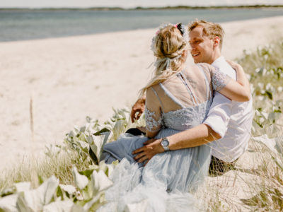 G & M - dream elopement on Møn, Denmark